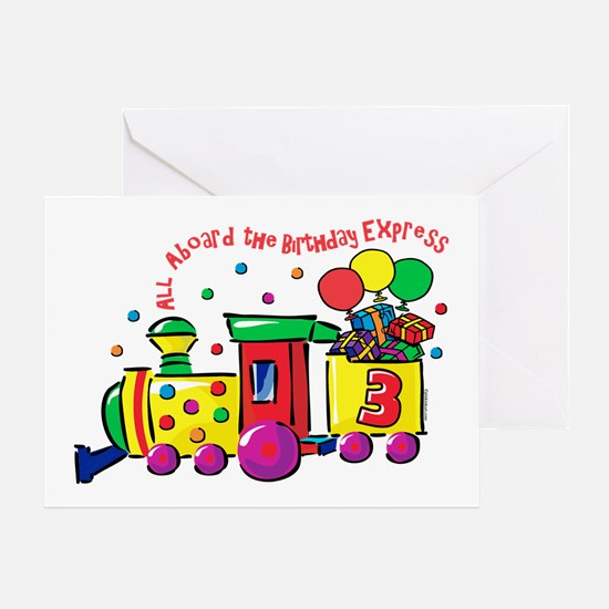 Birthday Express 3rd Greeting Card