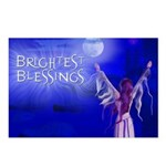 Brightest Blessings Postcards (Package of 8)