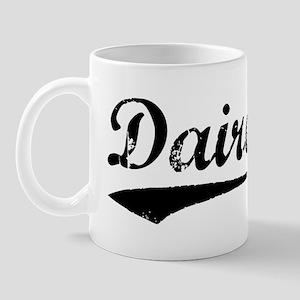 Vintage Dairen (Black) Mug
