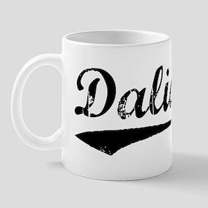 Vintage Dalian (Black) Mug