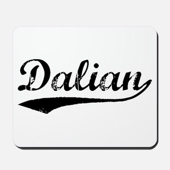 Vintage Dalian (Black) Mousepad