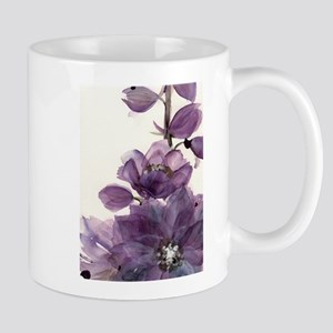 PURPLE FLOWER 2 Mugs