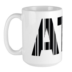 Atlanta Georgia ATL Air Wear Large Mug