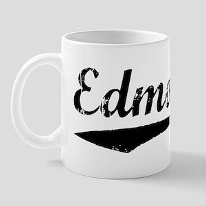 Vintage Edmonton (Black) Mug