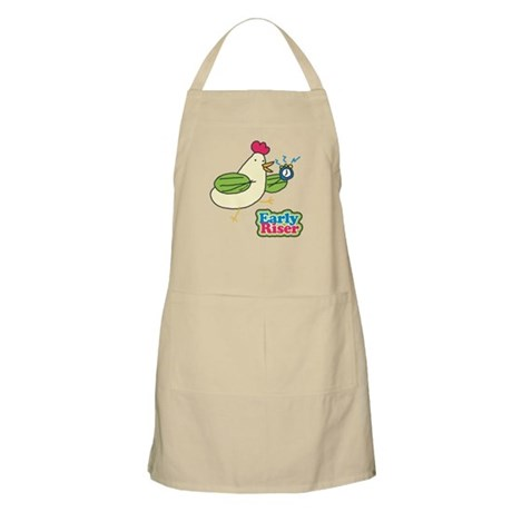 Early Riser Chicken BBQ Apron