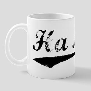 Vintage Ha Noi (Black) Mug