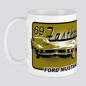 69 Fastback Muscle Car Mug