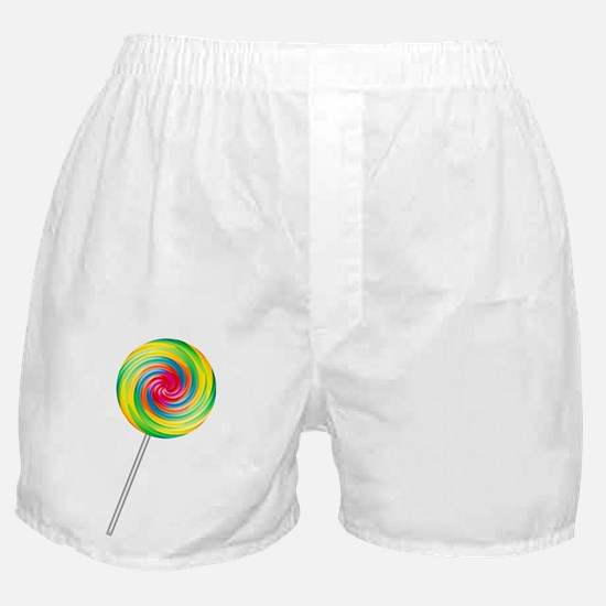 Swirly Lollipop Boxer Shorts