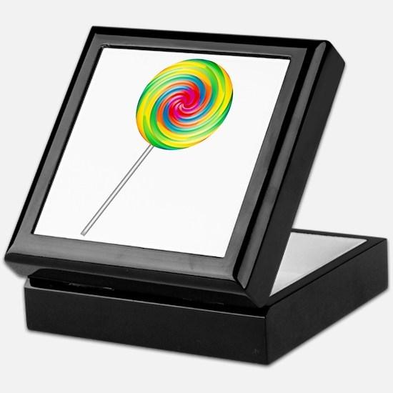 Swirly Lollipop Keepsake Box