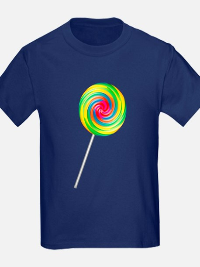 Swirly Lollipop T