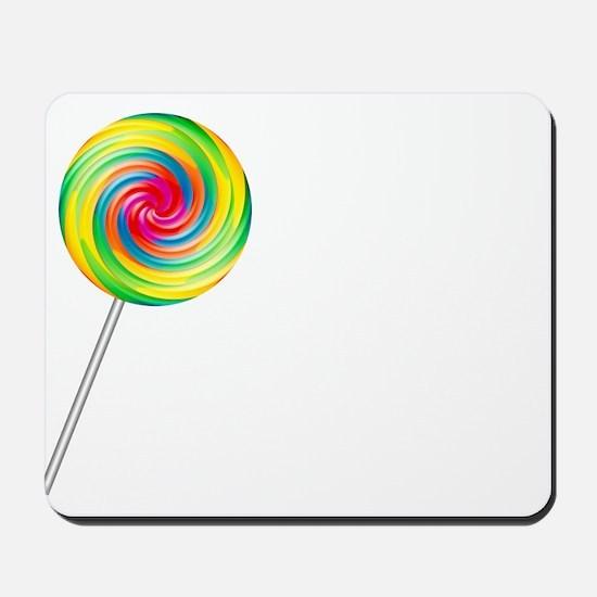 Swirly Lollipop Mousepad