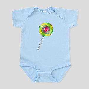 Swirly Lollipop Infant Bodysuit