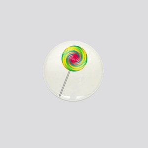 Swirly Lollipop Mini Button