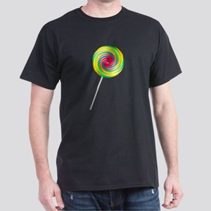 Swirly Lollipop Dark T-Shirt