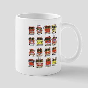 16 Firetrucks Mug