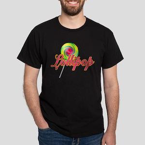 Text Lollipop Dark T-Shirt