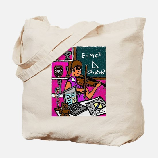 The Modern Prodigy Tote Bag