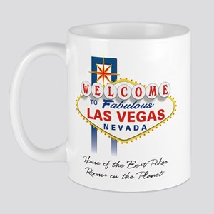 Welcome to Vegas Poker Mug