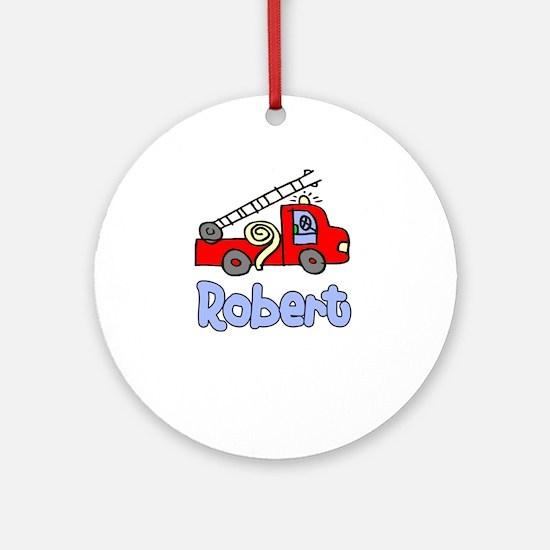 Robert Ornament (Round)