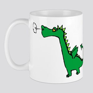 Cartoon Dragon Mug