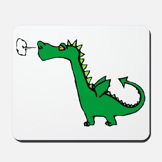 Cartoon Dragon Mousepad