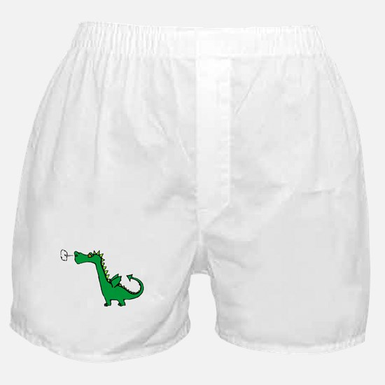 Cartoon Dragon Boxer Shorts