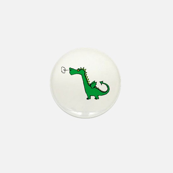 Cartoon Dragon Mini Button