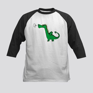 Cartoon Dragon Kids Baseball Jersey