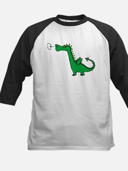 Cartoon Dragon Kids Baseball Jersey