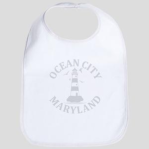 Summer ocean city- maryland Baby Bib