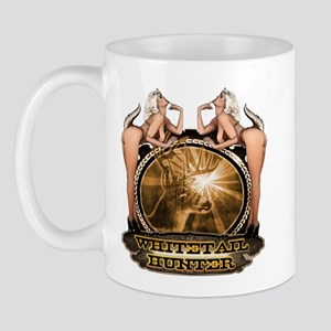 hunt naked Deer hunter gift t Mug