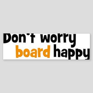 board Bumper Sticker