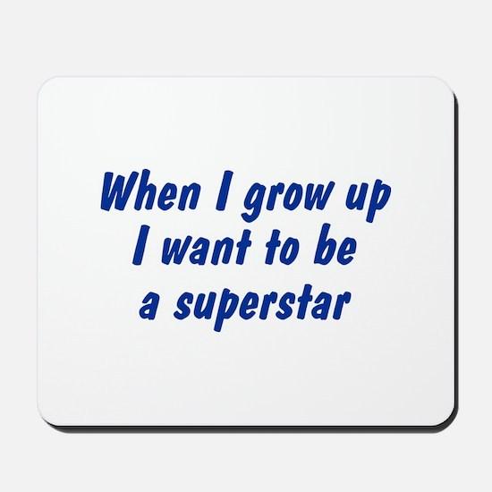WIGU Superstar Mousepad