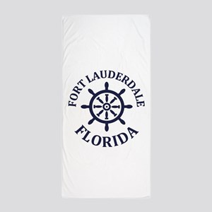 Summer fort lauderdale- florida Beach Towel