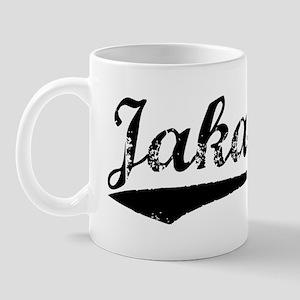 Vintage Jakarta (Black) Mug
