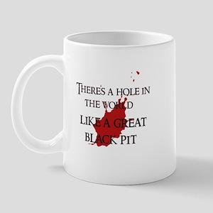 """A hole in the world"" Mug"