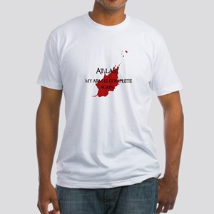 """""""At last"""" Fitted T-Shirt"""