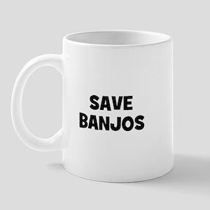 save Banjos Mug