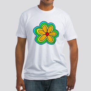 Flower Fitted T-Shirt