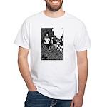 The Peacock White T-Shirt
