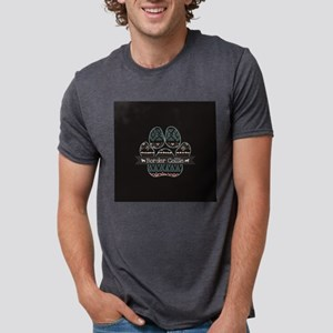 Border Collie Mens Tri-blend T-Shirt