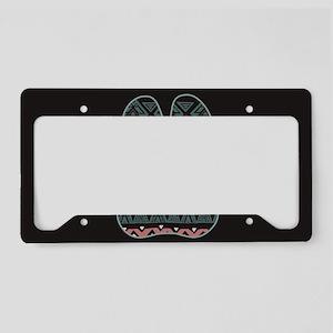 Border Collie License Plate Holder