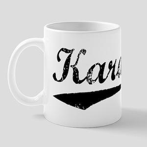 Vintage Karachi (Black) Mug