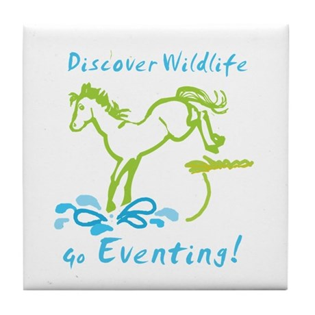 Eventing Horse Tile Coaster