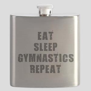Eat Sleep Gymnastics Flask