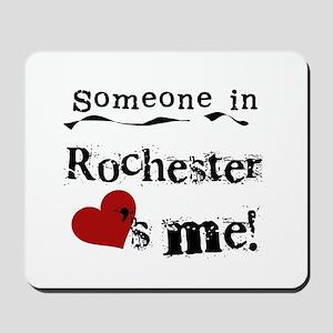 Rochester Loves Me Mousepad