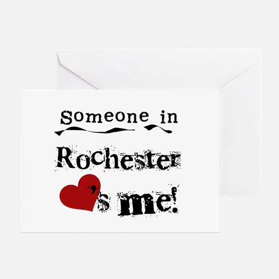 Rochester Loves Me Greeting Card