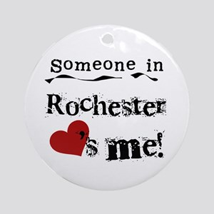 Rochester Loves Me Ornament (Round)