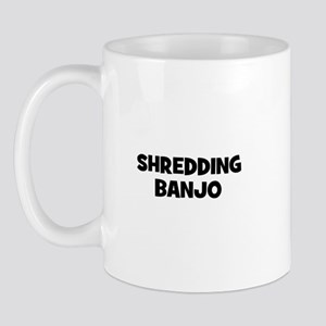 shredding Banjo Mug