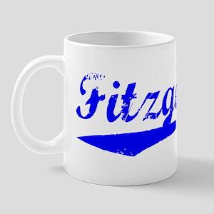 Vintage Fitzgerald (Blue) Mug